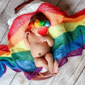 🌈New! Newborn Infant Baby Blanket Swaddle Wrap
